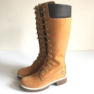 New Timberland Premium 14 inch Lace Up Boots Sz 6